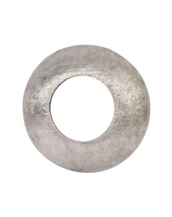 Brushed Sliver Aluminium Round Convex Mirror
